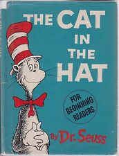 THE CAT IN THE HAT. 1957. First Edition. First Printing. Hardback w/ dust jacket