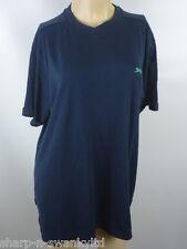 SLAZENGER Azul Marino Para Hombre Bordado camiseta de manga corta talla XL