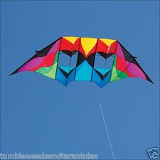 "Delta Box Kite Stratosphere Double DC Huge 124"" x 40"" + RipStop Nylon + 2-Tails"