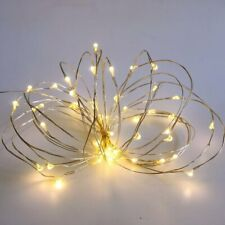 2 Pack Battery operated Fairy Lights with Timer,50 Count Warm White Mini Lights