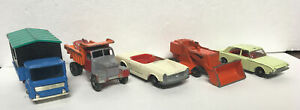 LESNEY MATCHBOX Lot Of 5 Restorable Cars!MADE IN ENGLAND