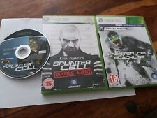 Splinter Cell Collection Double Agent Blacklist UK Xbox 360 + 1st Original Xbox