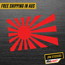 RISING SUN JAPAN JDM CAR STICKER DECAL Drift Turbo Euro Fast Vinyl #0021