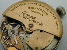ONSA FELSA 690 AUTOMATIC WATCH MOVEMENT AND DIAL COMPLETE RUNNING