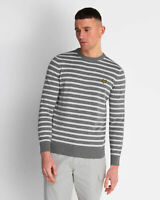 Lyle and Scott Men Breton Stripe Jumper - Cotton