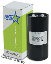 USA Start Capacitor 1000-1200 MFD uf 110 - 125V Round AC Electric Motor vac volt