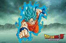 DRAGON BALL Z - RESURRECTION F - GOKU POSTER - 22x34 MANGA 14476