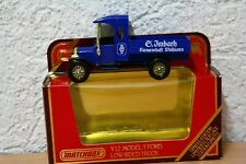 Y12 Y-12 Model Ford Low Sided Truck Imbach Matchbox MOY Limited Edt. BOX