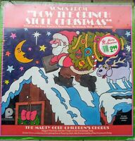 """Songs From How The Grinch Stole Christmas LP 12"""" 1973 SEALED; Marty Gold"""