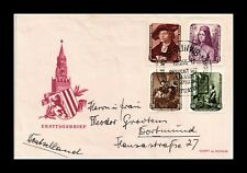 Dr Jim Stamps Returned Paintings Fdc Combo Ddr East Germany European Size Cover