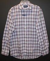 Polo Ralph Lauren Mens Gray Plaid Button-Front Dress Shirt NWT $145 Size S