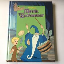 Disney Merlin Book In French - Merlin L'Enchanteur by Disney. Large Hardback.