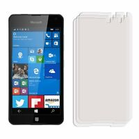 2 x Clear LCD Screen Protector Film Foil Saver for Mobile Phone Nokia Lumia 650