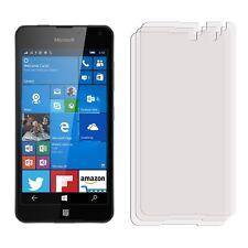 2 x Clear LCD Pellicola Proteggi Schermo FOIL Saver Per Telefono Cellulare Nokia Lumia 650
