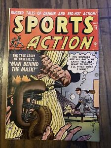Sports Action #12 #1952