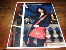 ISABELLE ADJANI - PUBLICITE SAC !!!!!!! FRENCH LEGERETE