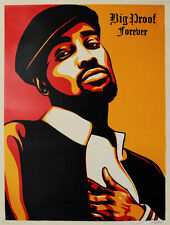 BIG PROOF -SOLD OUT- shepard fairey obey giant signed numbered screenprint