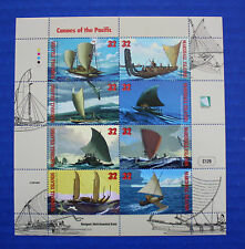 Marshall Islands (#655) 1998 Canoes of the Pacific MNH sheet