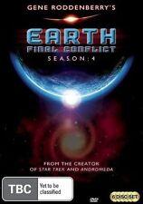 Earth Final Conflict : Season 4 (DVD, 2010, 6-Disc Set) - Region 4