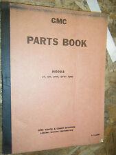UP TO 1963 GMC MODELS DF DFI DFW DFWI 7000 FACTORY PARTS BOOK MANUAL CATALOG