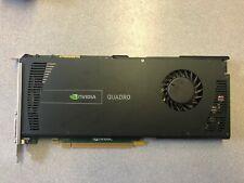 Nvidia Quadro 4000 2GB GDDR5 Graphics card 731Y3 Dell T3600 2 DP 1 DVI