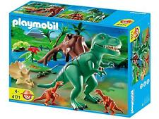NEW/SEALED Playmobil 4171 T-Rex With Velociraptors Dinosaurs TREX RAPTORS Dinos