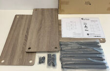 Furinno 3-Tier BookShelf, Home Office Bookshelf, Gray Model #10024-Read Descript