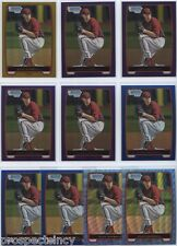 Lot of (21) Evan Marshall 2012 Bowman Chrome COLOR Prospect RC Cards - Arizona