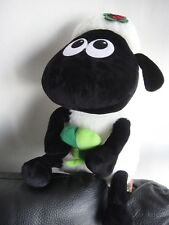 "NEW 15"" Shaun the Sheep *BIG* Plush with Lucky Clover/ St. Patty/ St. Patrick"