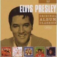 """ELVIS PRESLEY """"ORIGINAL ALBUM CLASSICS"""" 5 CD NEW"""