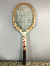Garcia Harold Solomon Autograph Pro 240 Wood Racquet (Excellent Condition) 4 5/8