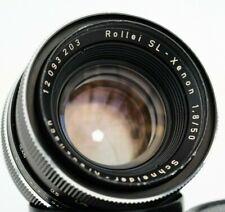 Schneider Kreuznach SL-XENON 50mm f1,8 - ROLLEI QBM mount lens made in Germany