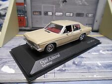 OPEL Admiral B ( Diplomat ) Limousine 1969 -76 beige Minichamps SONDERPREIS 1:43