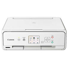 Canon Wireless Color Photo Printer with Scanner & Copier (White)