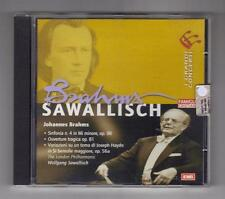 I GRANDI CONCERTI - BRAHMS- SAWALLISCH - Fam. CRISTIANA CD ORIGINALE come nuovo