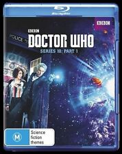 Doctor Who : Series 10 : Part 1 (Blu-ray, 2017, 2-Disc Set) ** BRAND NEW **