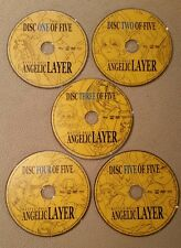 Angelic Layer Complete Collection Battle Doll 2008 5 DVD Set - Loose Discs Only