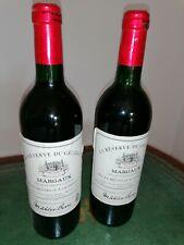 1994 Chateau Margaux La Reserve Du General ! 2 Flaschen ! RAR ! Vintage !