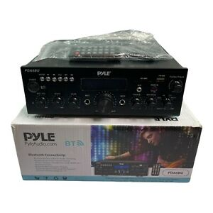 Pyle Audio Home PDA6BU Stereo Amp Receiver 200W Amplifier
