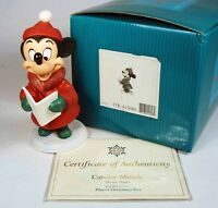 "Walt Disney Classic Collection: ""Caroler Minnie"", FULL size, Minnie Mouse"