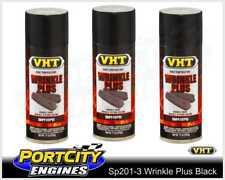 VHT Wrinkle Plus Coatings High Temp Black Finish Paint 312g 3 Cans SP201-3
