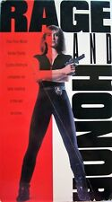 Rage and Honor (VHS, 1993) Cynthia Rothrock, Richard Norton # 043396929135
