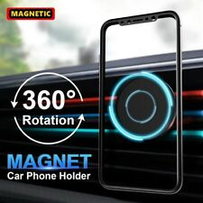 Magnetic Car Mount Air Vent Stand GPS Cell Phone Holder iPhone 8 7 Plus X