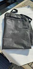 Gucci Kleidersack L: ca.108cm Schwarz Stoff Anzugsack Kleiderschutzhülle...