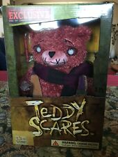 """Teddy Scares Edwin Morose 12"""" Plush Bear Limited Coll. Edition #606 of 2900 New"""