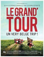 Affiche 120x160cm LE GRAND TOUR (2013) Denis Burton, Pierre Fontaine TBE