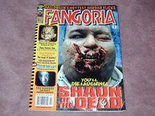 FANGORIA # 237, Shaun of the Dead, Seed of Chucky, Free Shipping USA