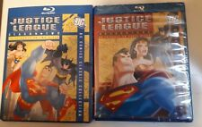 Justice League Series Complete Seasons 1 & 2 Blu Ray Brand New And Sealed