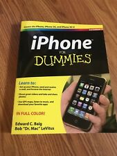 iPhone for Dummies Edward C. Baig & Bob LeVitus 2009 PB 3G 3GS iPhone EUC