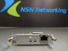 Genuine Cisco HWIC-1T1-E1 1-Port High-Speed WAN Interface Card